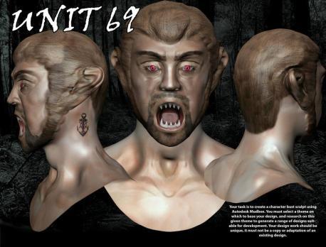 Mudbox Head Sculpt