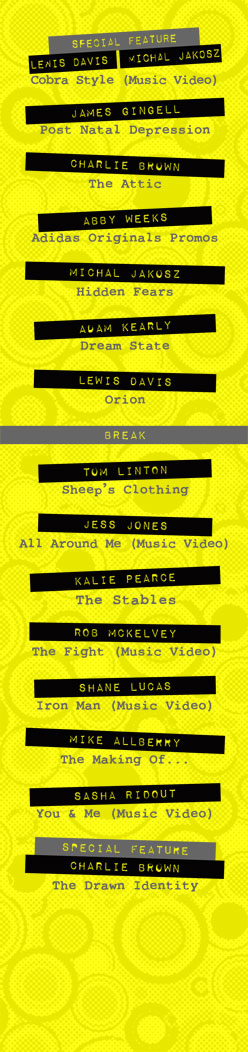 Showcase Flyer - Running Order - www.addmtrowbridge.co.uk