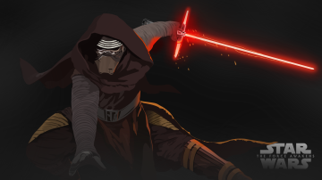 Star wars The Force Awakens Kylo Ren Caius Warburton