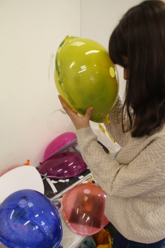 Foundation Students prep for Exhibition (10)