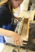 Foundation Students prep for Exhibition (3)