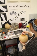 Foundation Students prep for Exhibition (9)